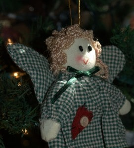 Christmas cloth Angel for Shutterfly